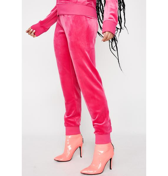 JUICY COUTURE Sassy Zuma Velour Pants