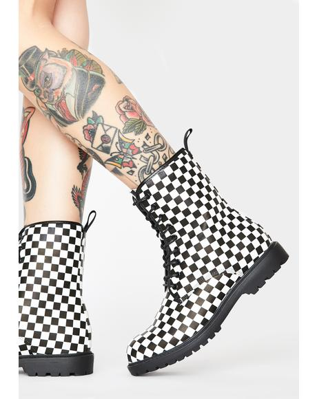 Abbey Road Combat Boots