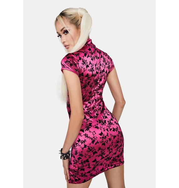 Motel Ruli Satin Mini Dress