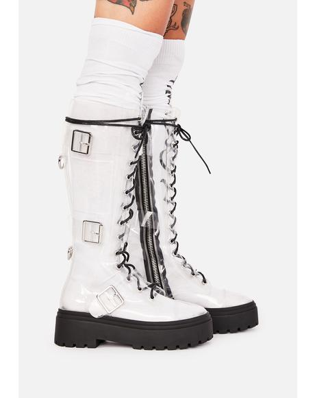 World Tour Combat Boots