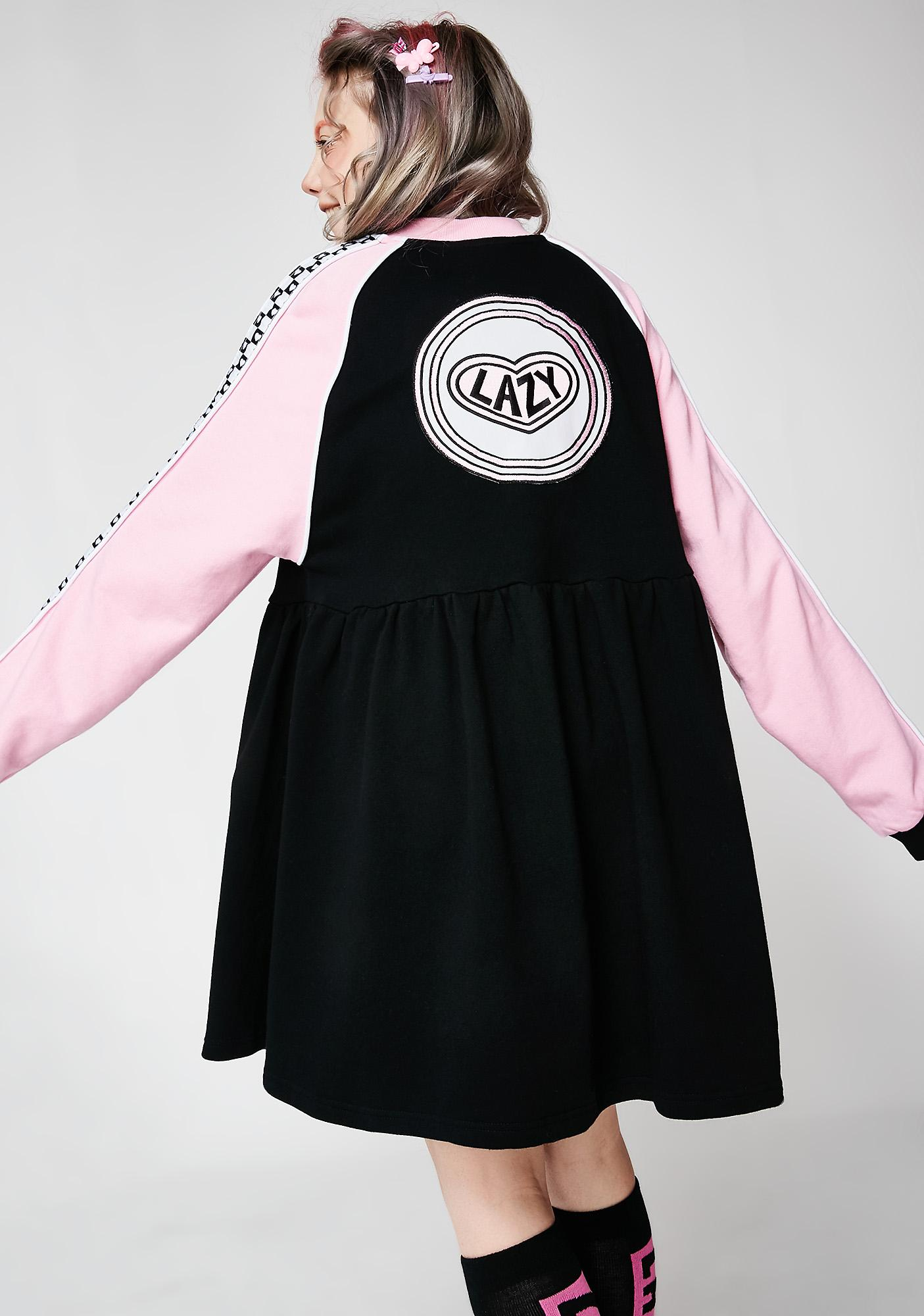94268524b65 ... Lazy Oaf Sports Club Zip Sweater Dress