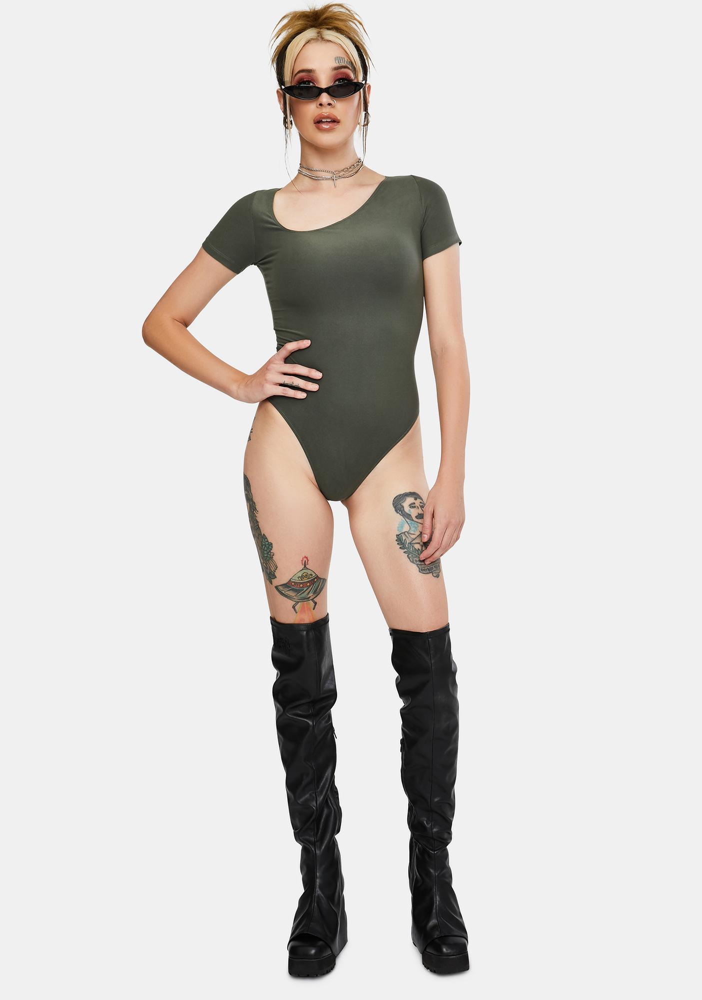 Dream Bandits Australia Sustainable Tokyo Asymmetric Bodysuit