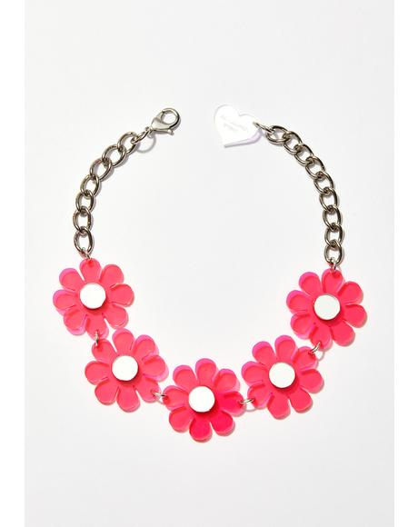Sweet Flower Power Choker