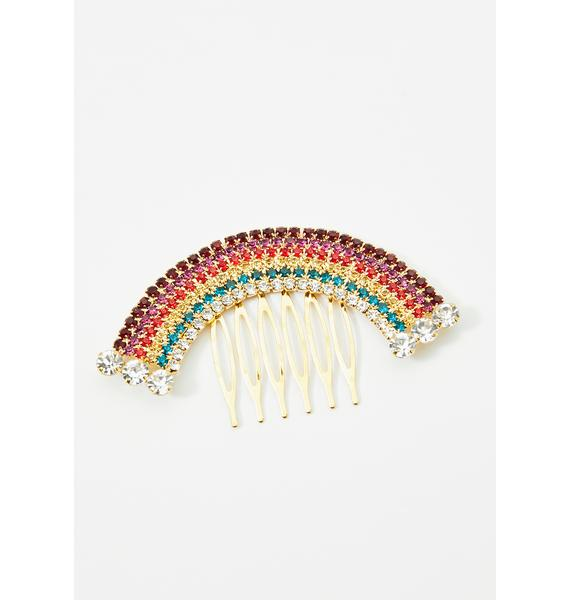 Opulent Energy Rainbow Clip