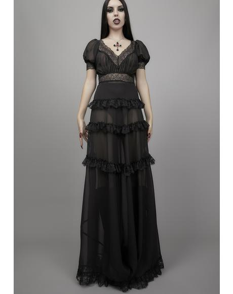 Perpetual Night Maxi Dress