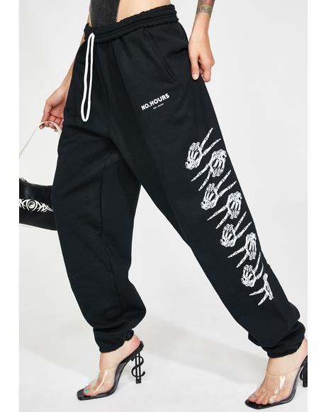 Peace Graphic Sweatpants
