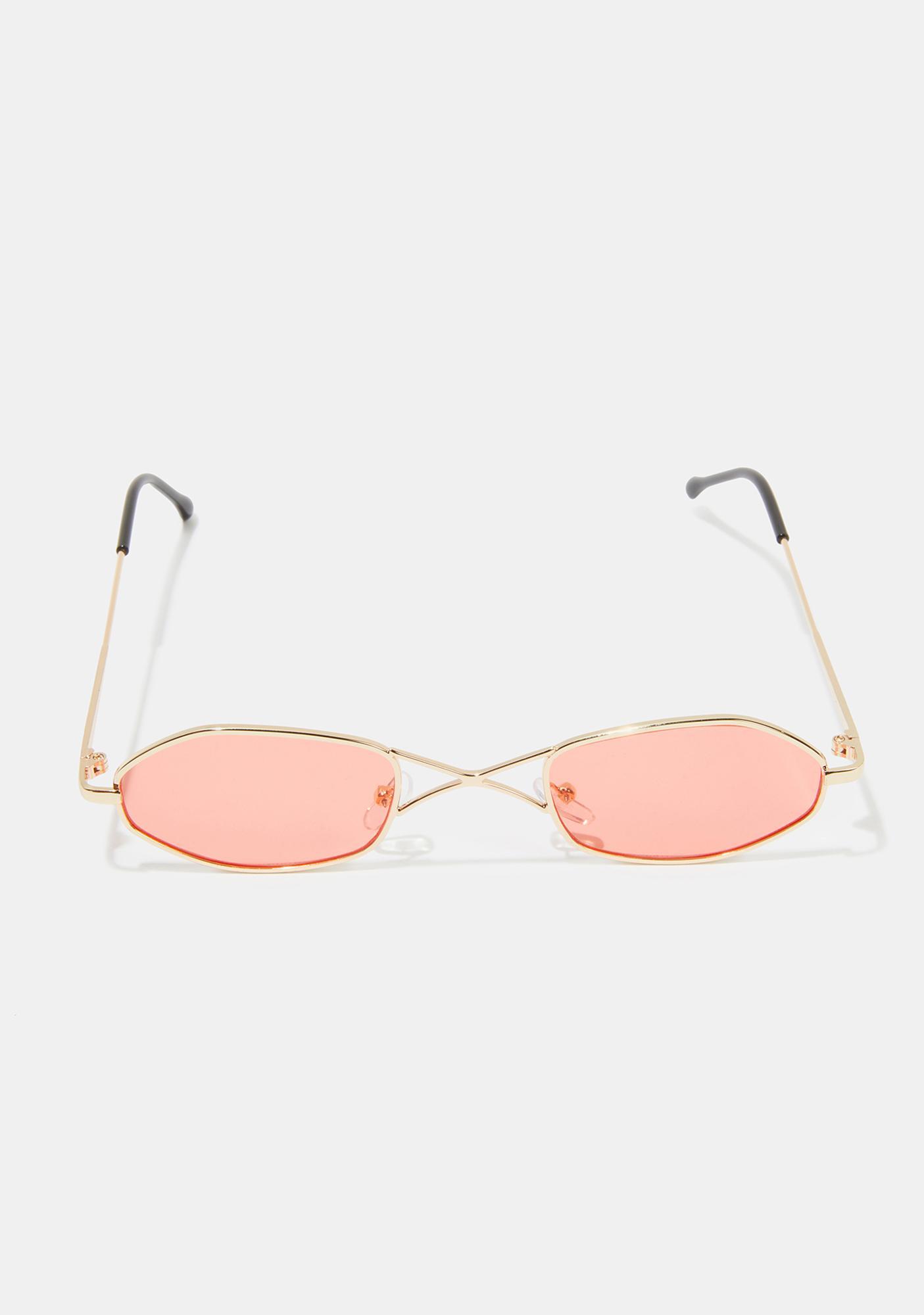Crimson So Secret Tiny Sunglasses