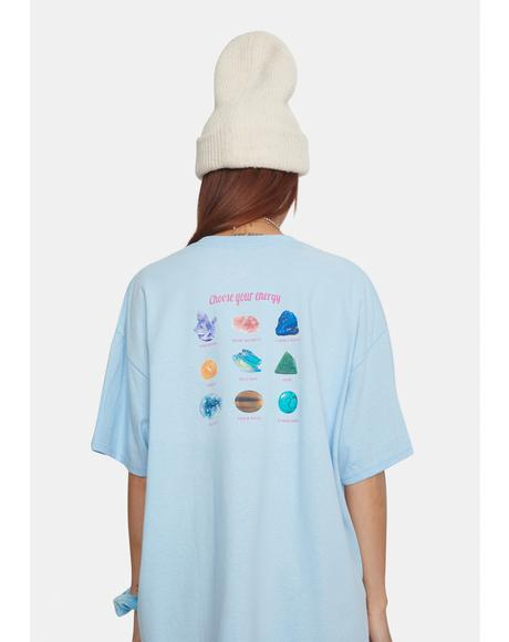 Tyler Crystal Graphic Tee