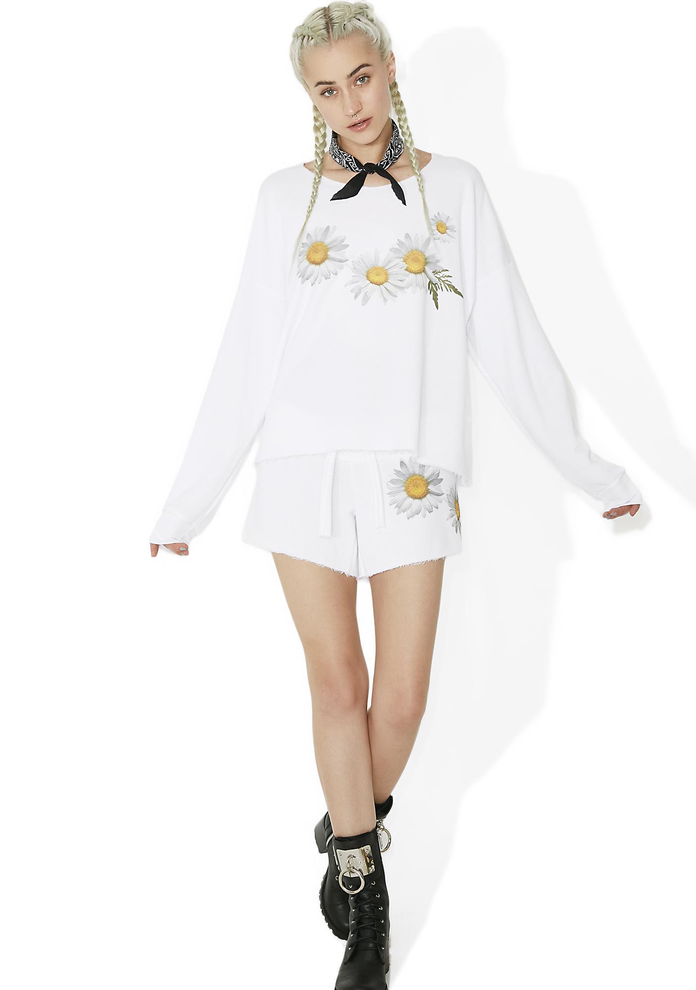 Wildfox Couture Fresh As A Daisy 5AM Sweatshirt