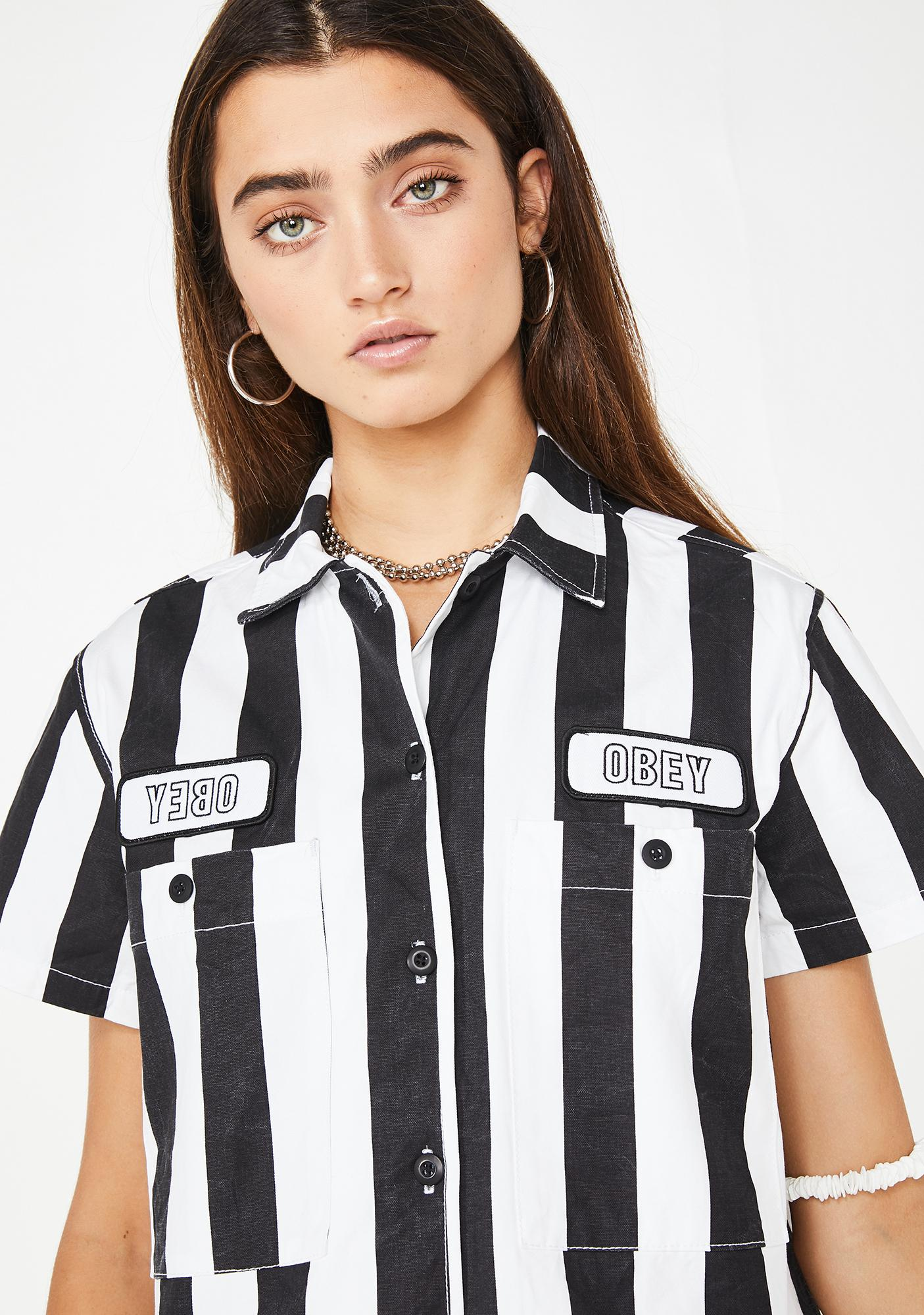Obey Onyx Static Work Shirt