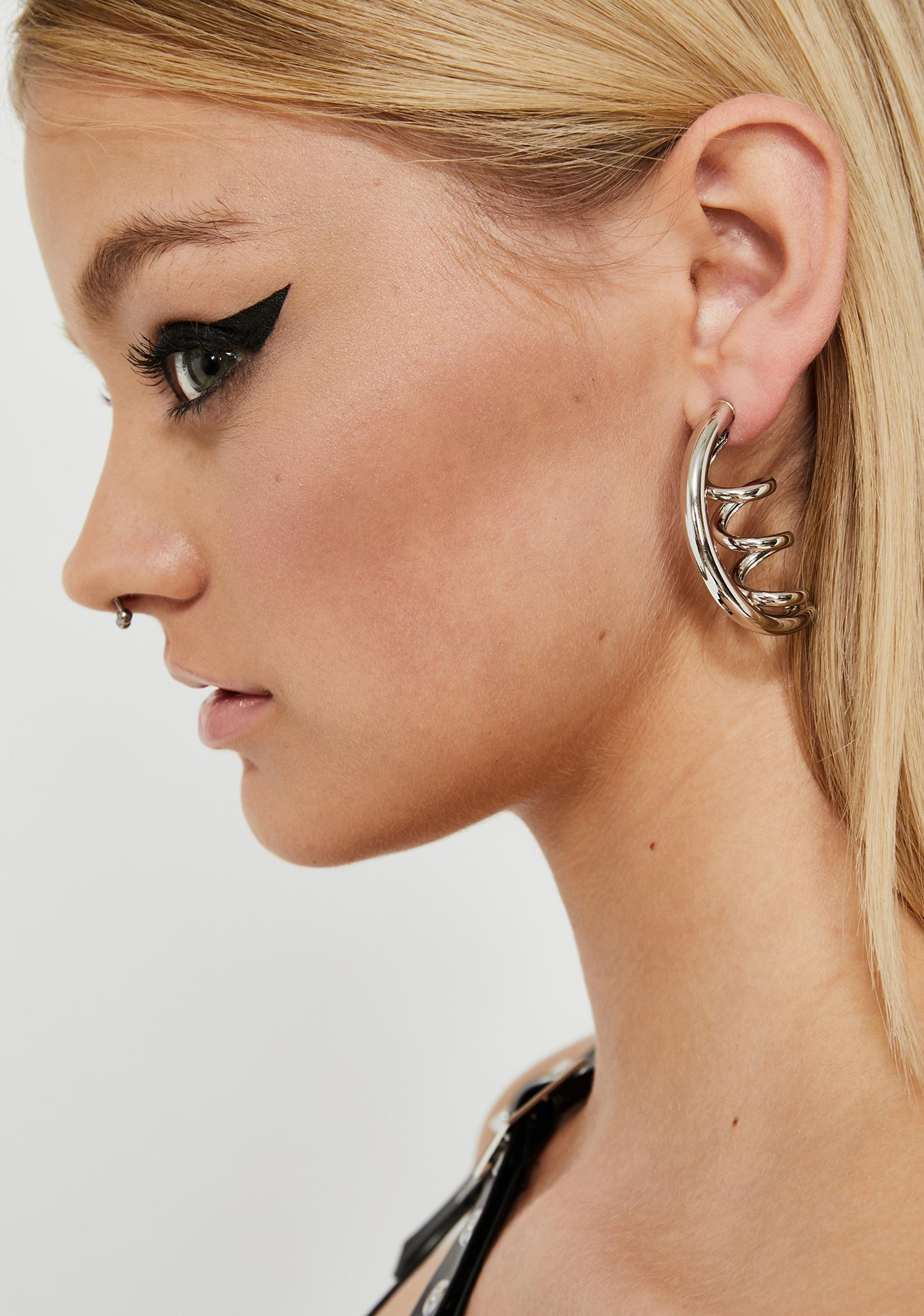 Party's Here Corkscrew Earrings