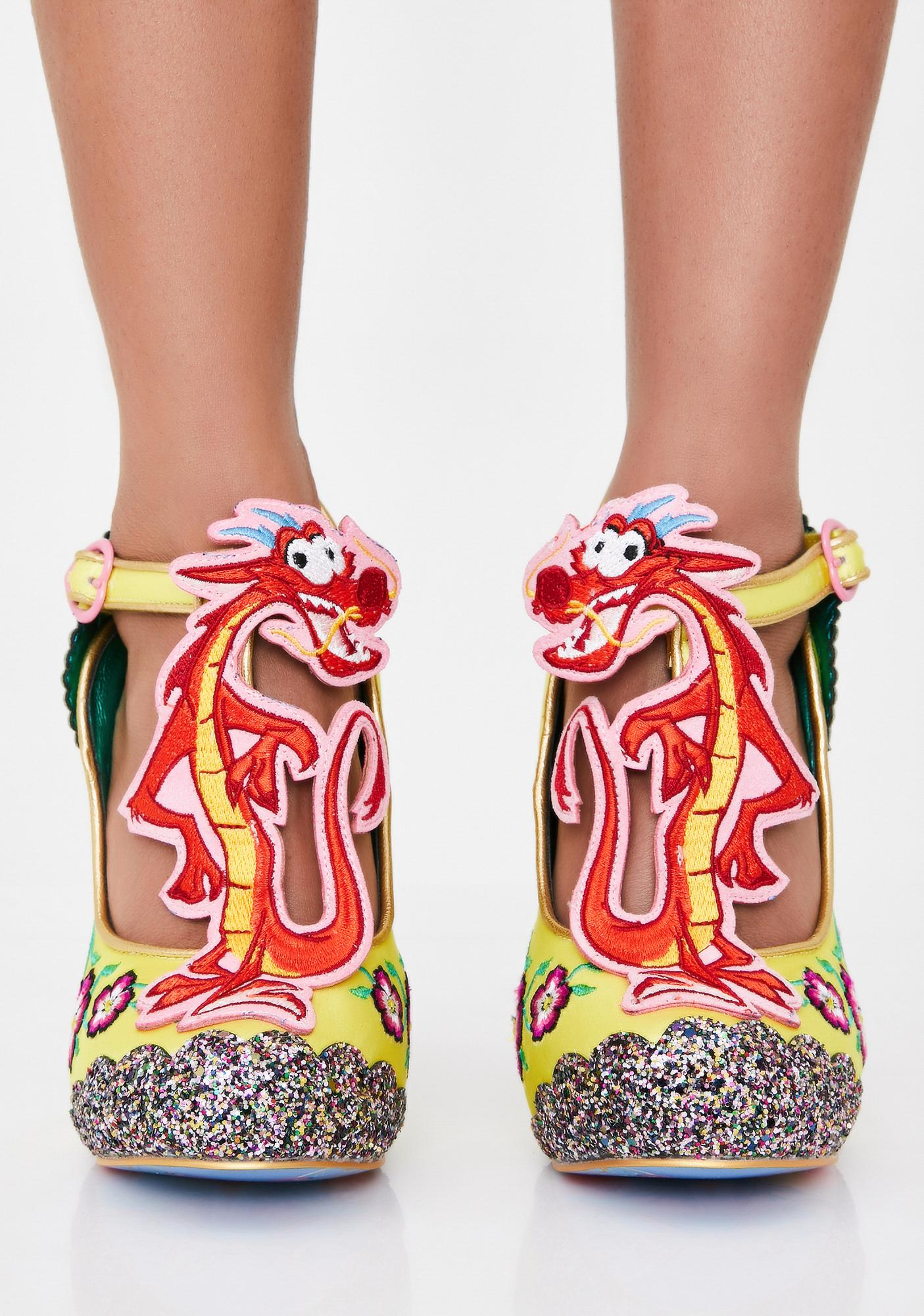 Irregular Choice Let Your True Self Shine Heels