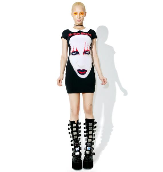 Killstar Spell Master Suspender Dress