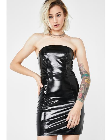 Knockout Kween Vinyl Dress