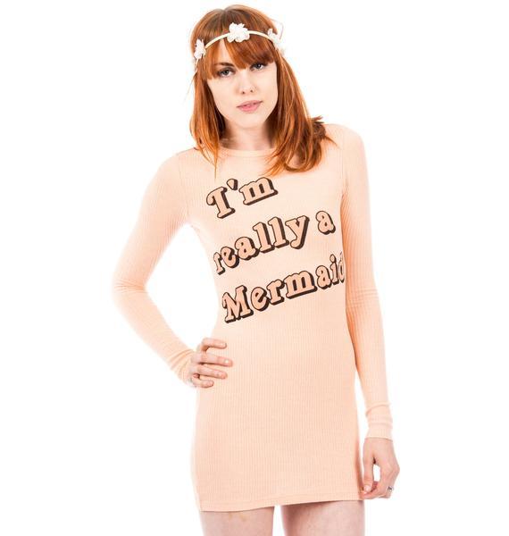Wildfox Couture I'm Really A Mermaid Arizona Dress