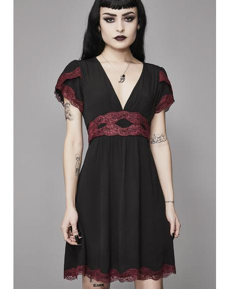 Bloody Valentine A-Line Dress