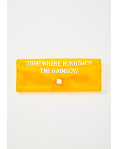 Hungover The Rainbow Sunglasses Case