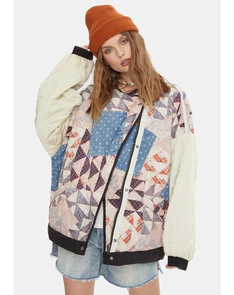 Rudy Quilted Bomber