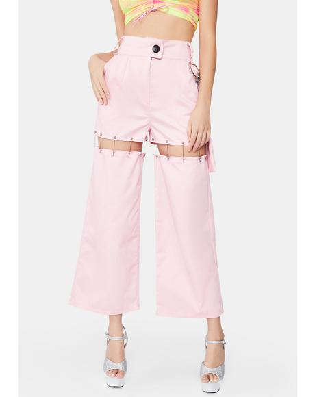 Bubble Gum Convertible Pants
