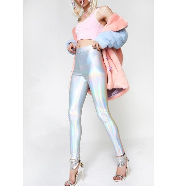 From Up There Hologram Leggings