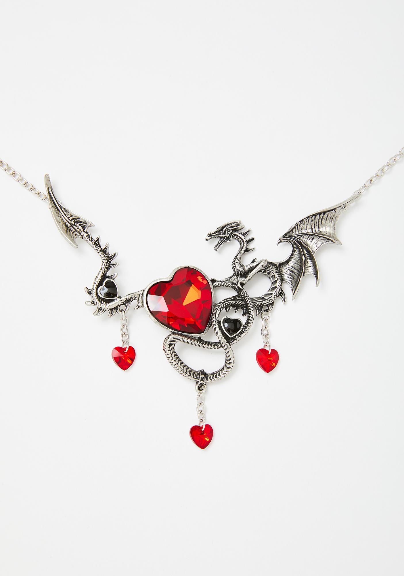 Legendary Heart Keeper Dragon Necklace