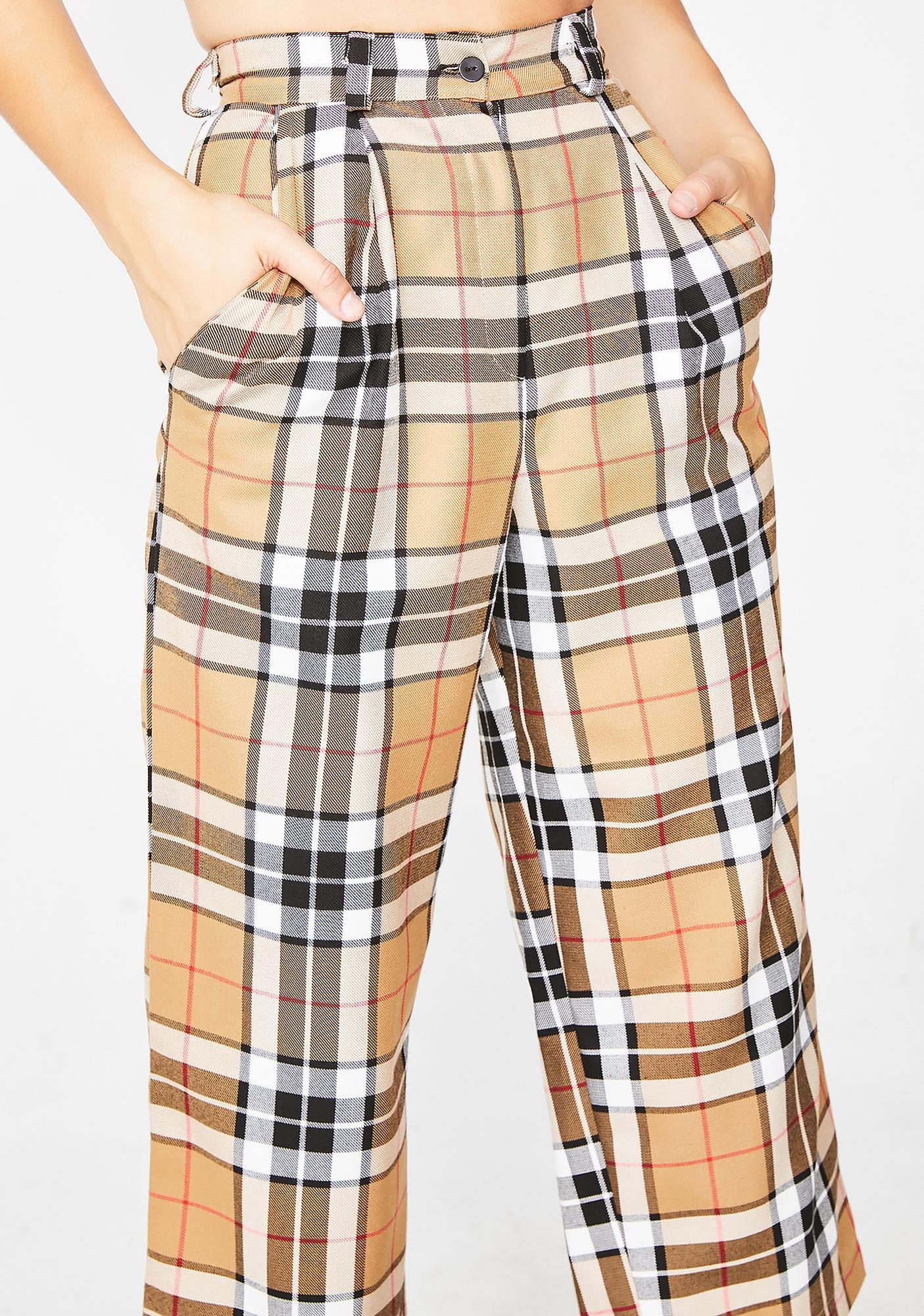 LOVE TOO TRUE Ashley Wide Leg Trousers