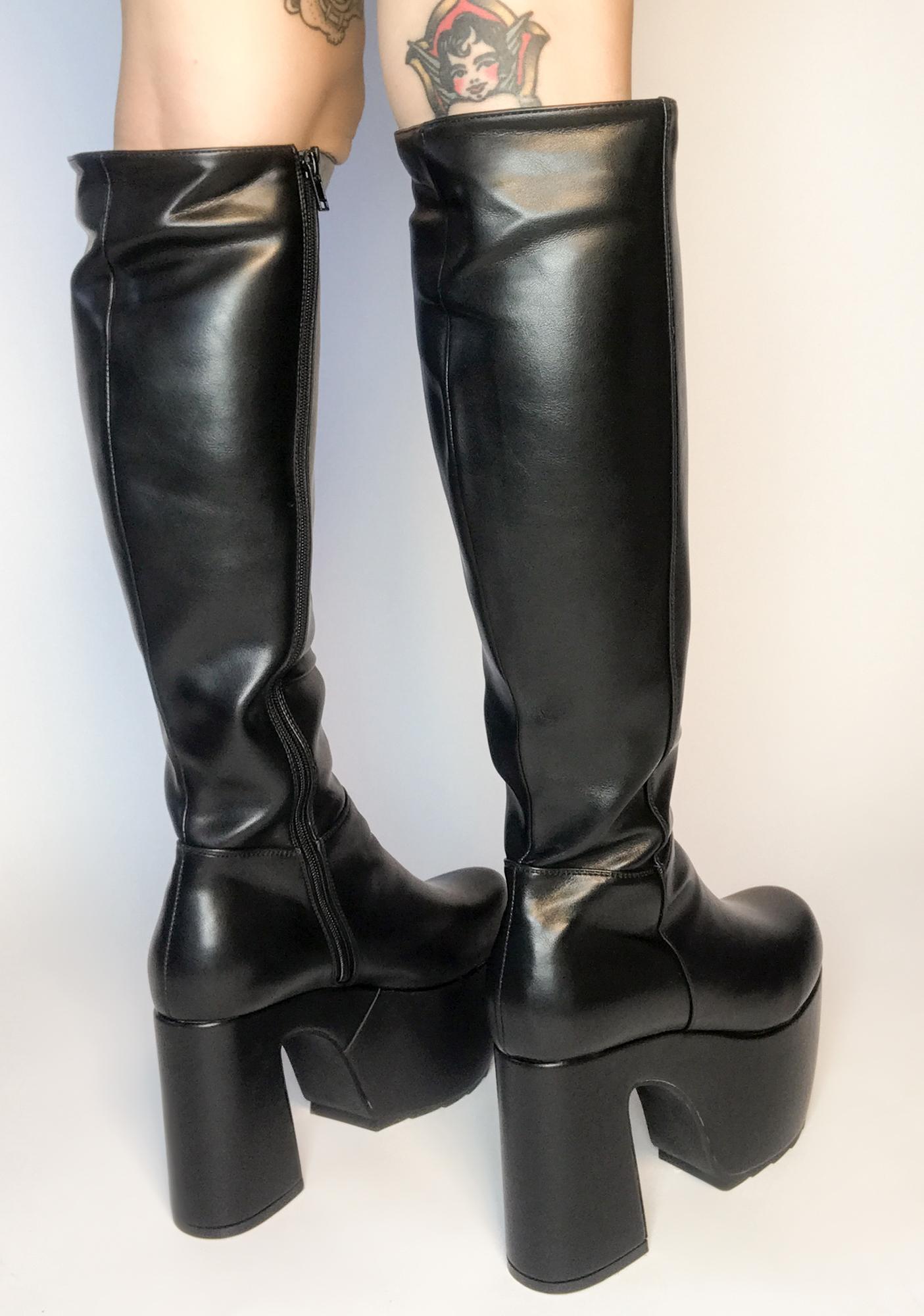 Lamoda Gotta Level Up Knee High Boots