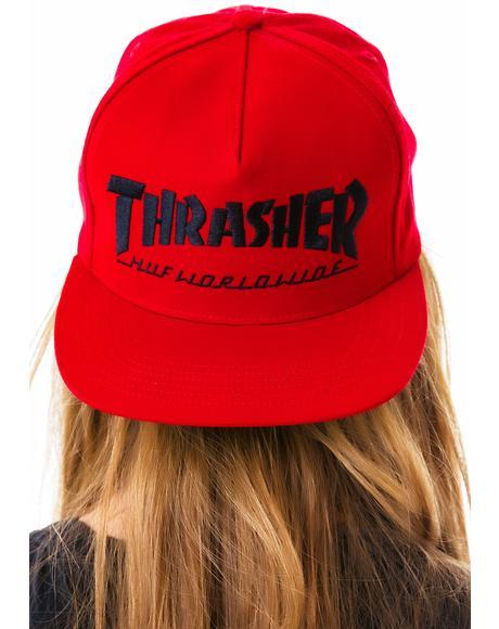 x Thrasher Snapback