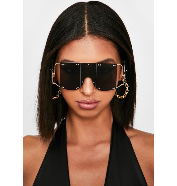 Club Clout Shield Sunglasses