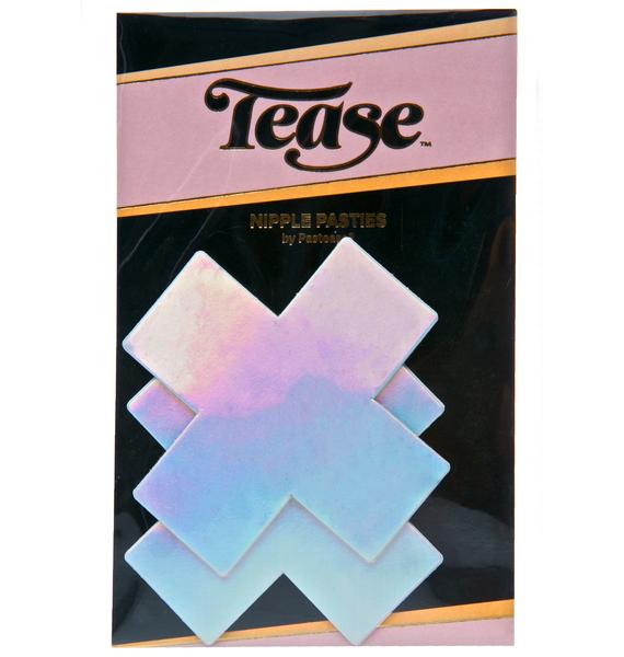Pastease Chemical XXX Holographic Pasties