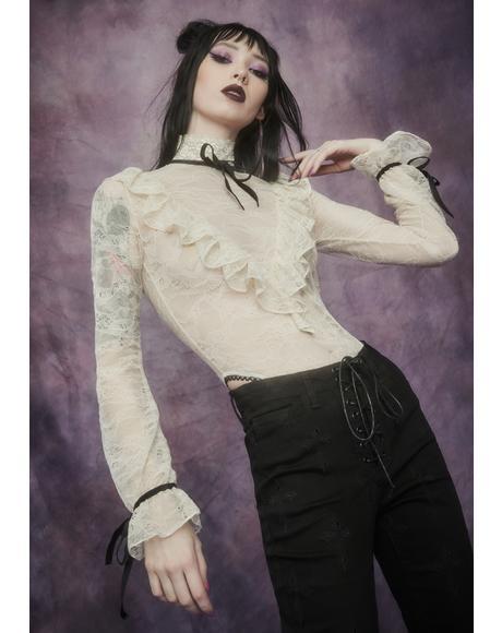 Banshee's Lament Lace Bodysuit