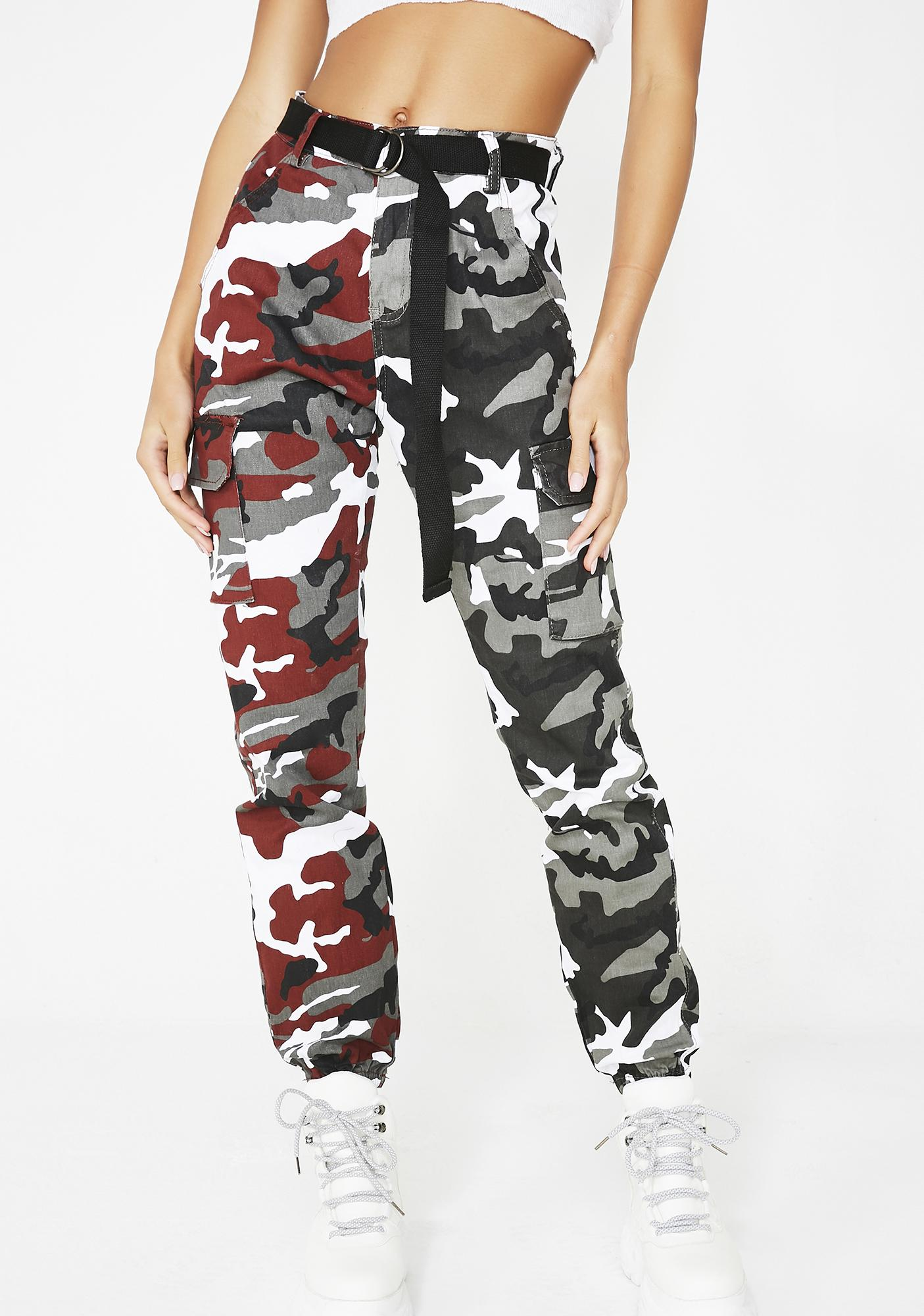 March To Me Camo Joggers