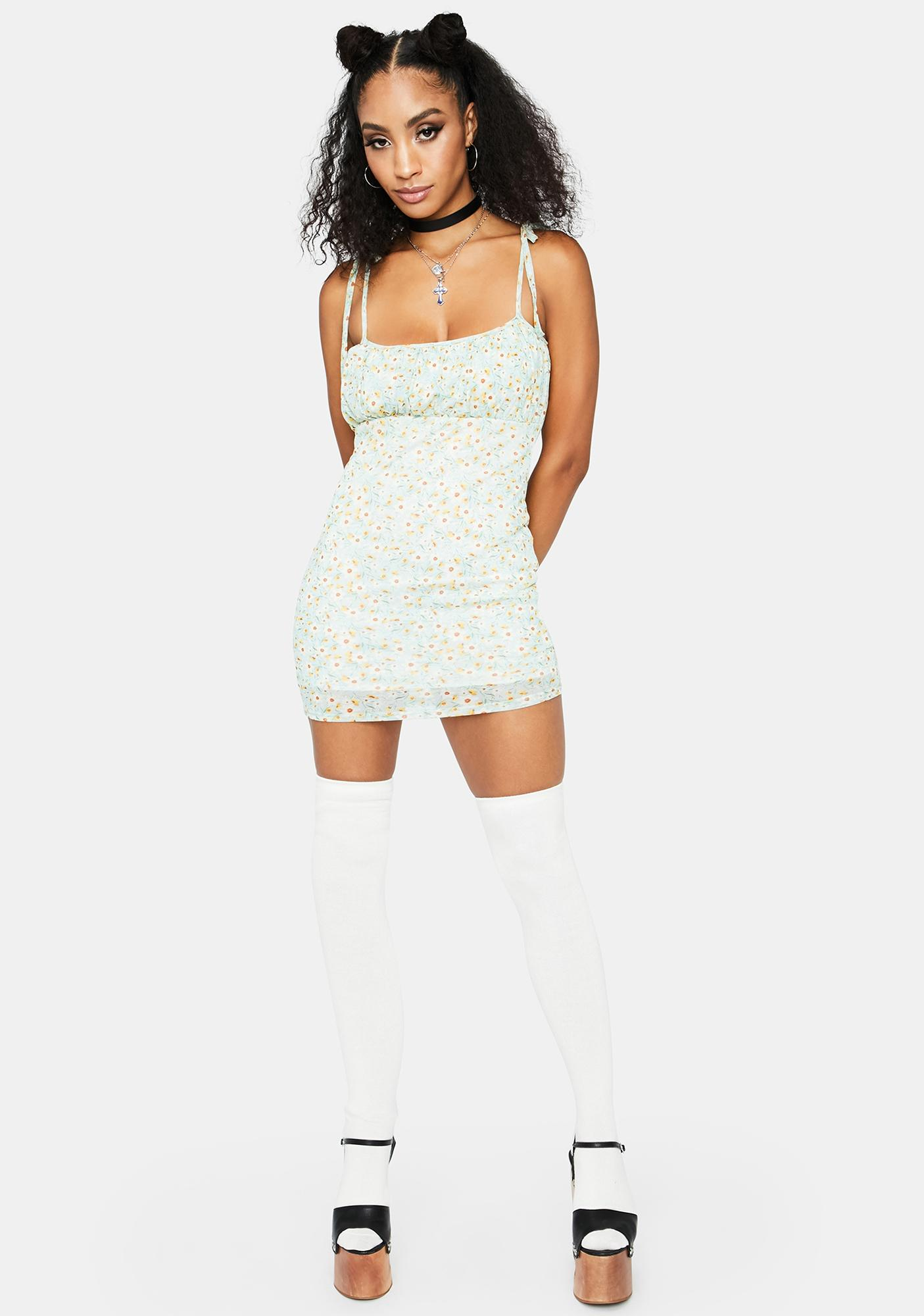 In Need Of TLC Mini Dress