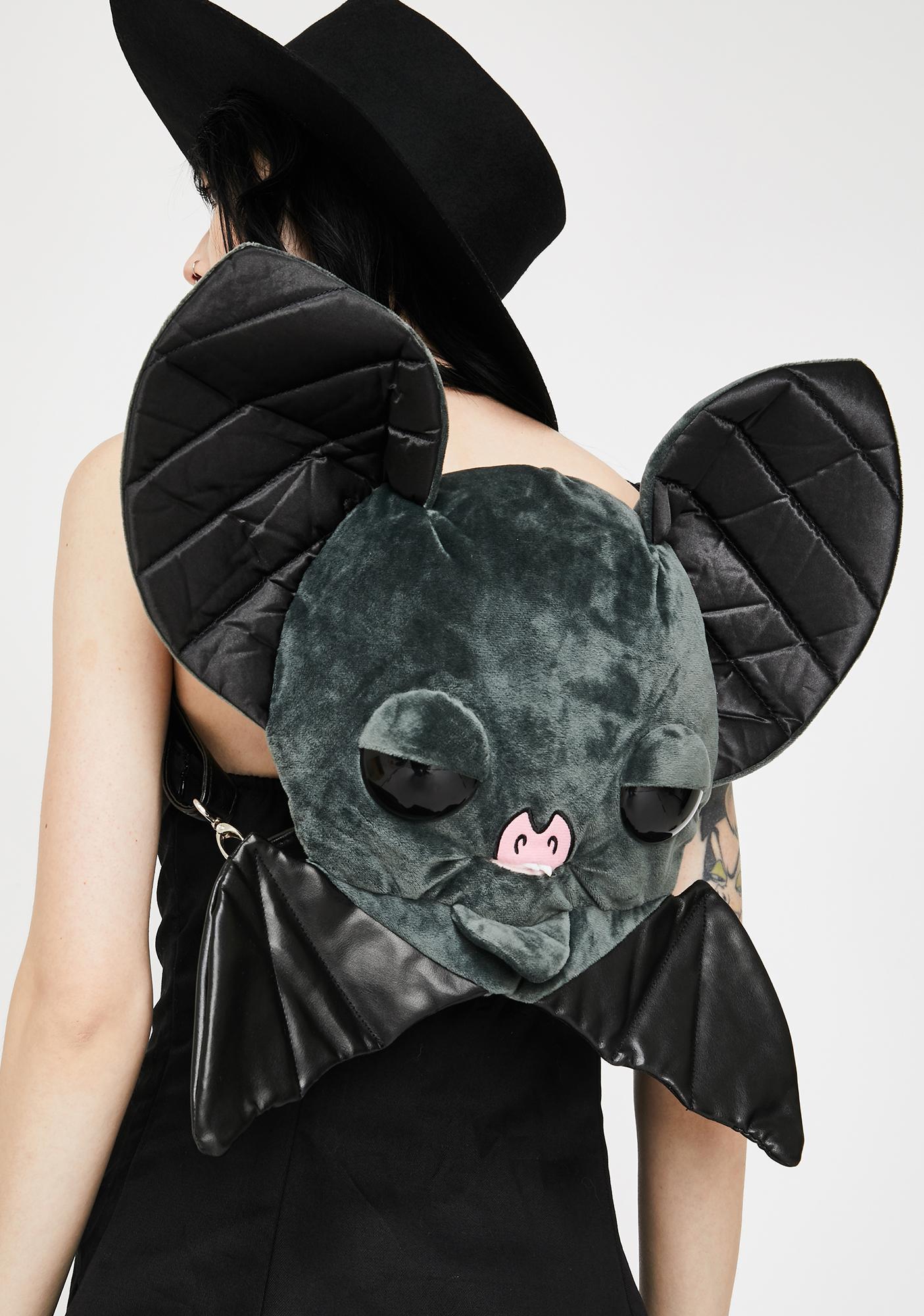 Kreepsville 666 Sugarfueled Bat Black Plush Bag