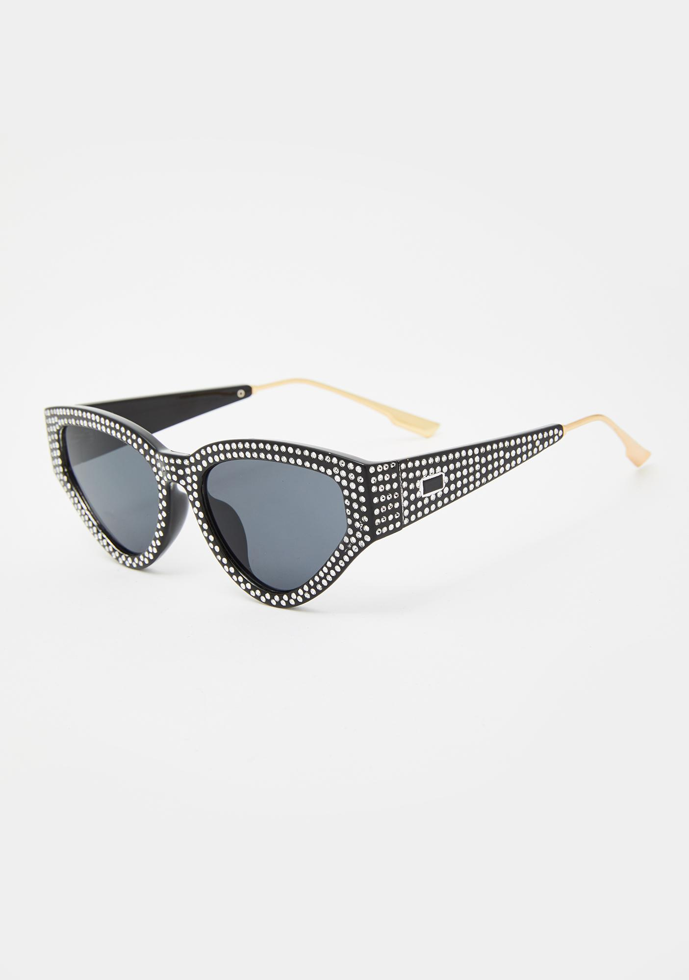 Late Level Up Cat-Eye Sunglasses
