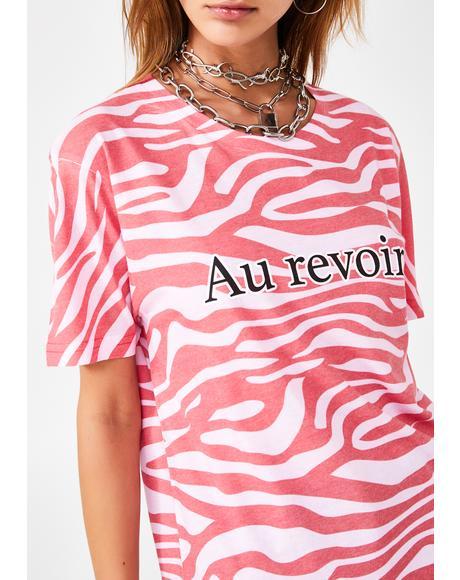 Au Revoir Tiger T-Shirt