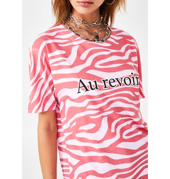 Skinnydip Au Revoir Tiger T-Shirt