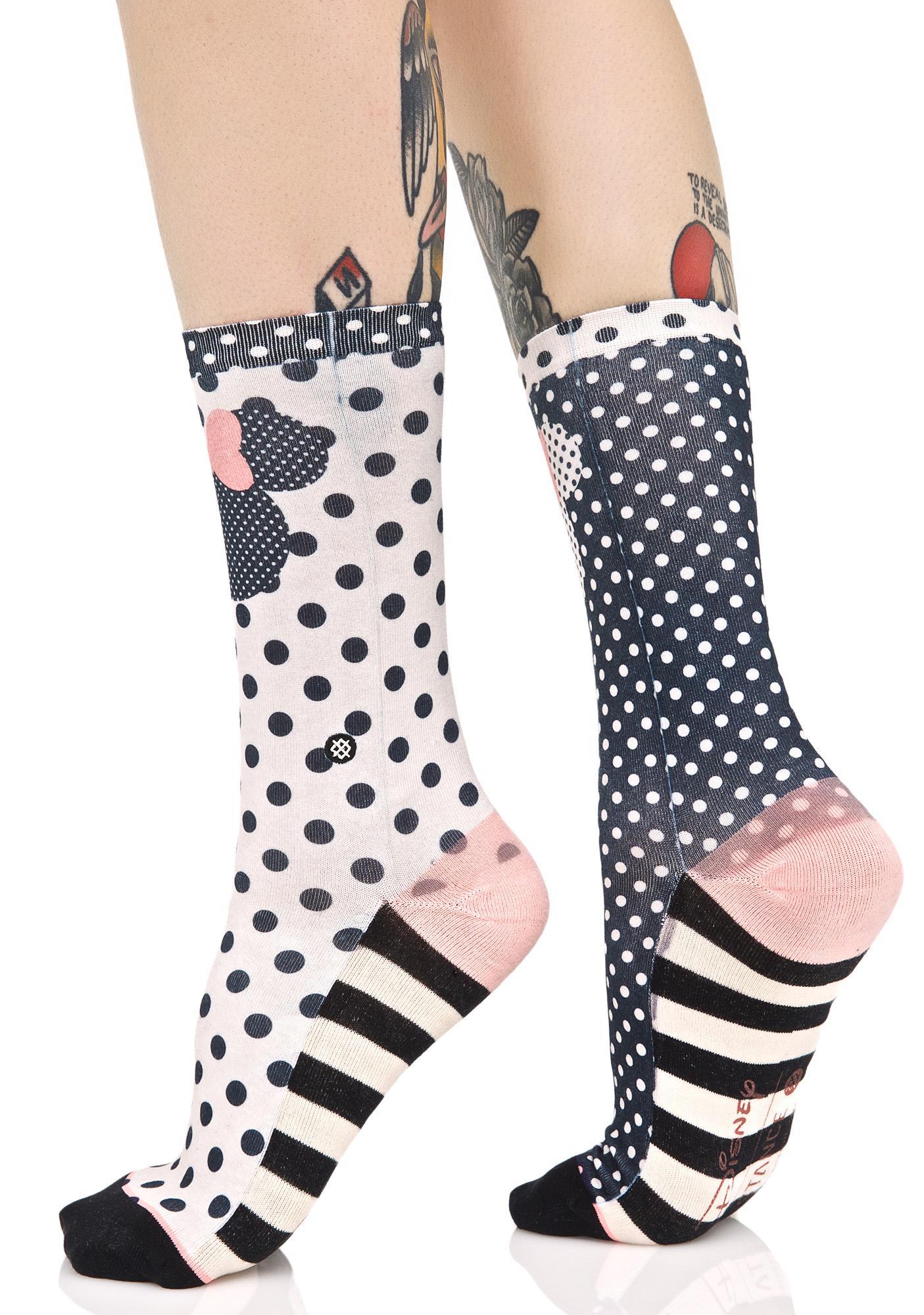 Stance Sprinkled Minnie Socks