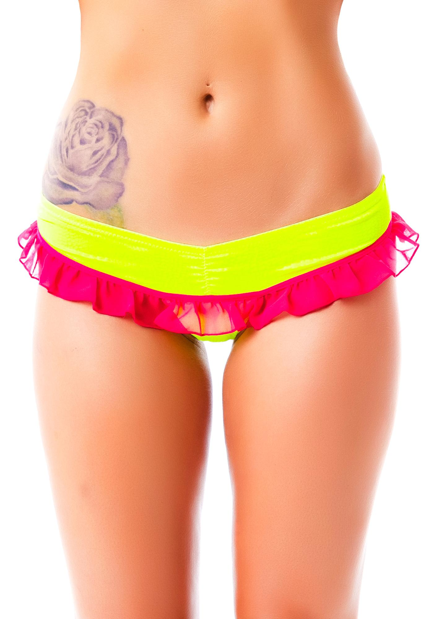 Love Haus French Kiss Ruffle Panty