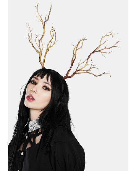 Branch Of Life Antler Headband