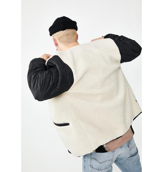 Obey Oyster Sherpa Jacket