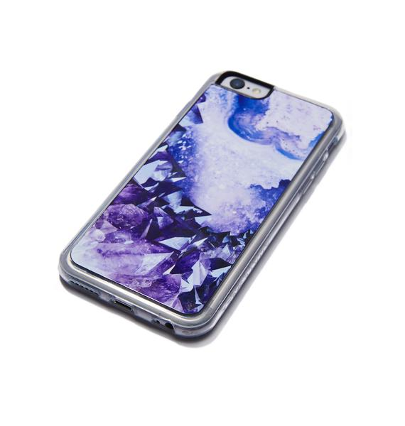 Zero Gravity Healer Crystal iPhone Case