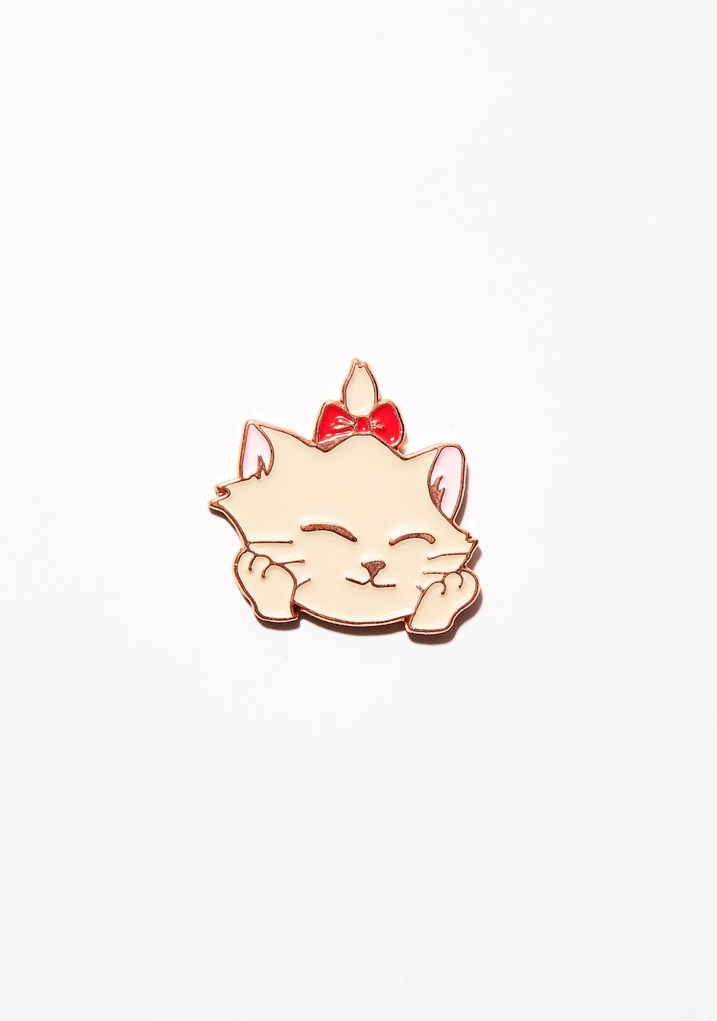 Rosehound Apparel Glad Kitty Lapel Pin