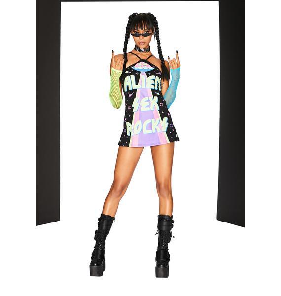 Club Exx Seduced In Stereo Mini Dress