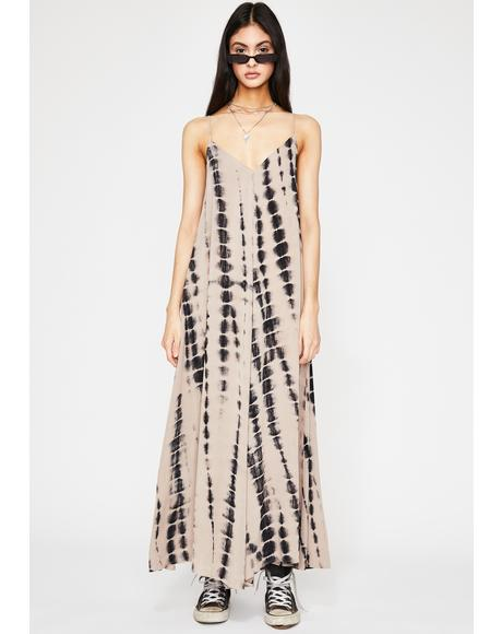 Boho Bae Tie Dye Maxi Dress