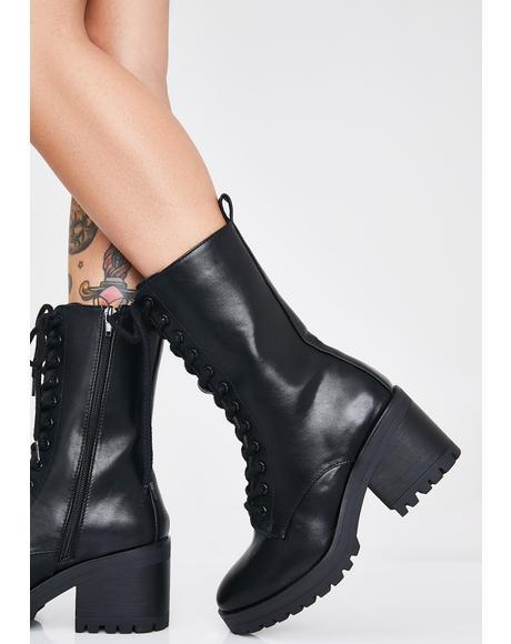 High Ryder Combat Boots