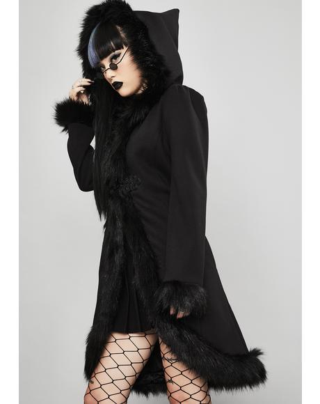 Cold Soul Faux Fur Coat