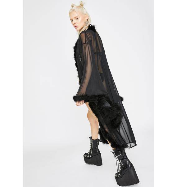 Sparkl Fairy Couture Black Fairytale Kimono