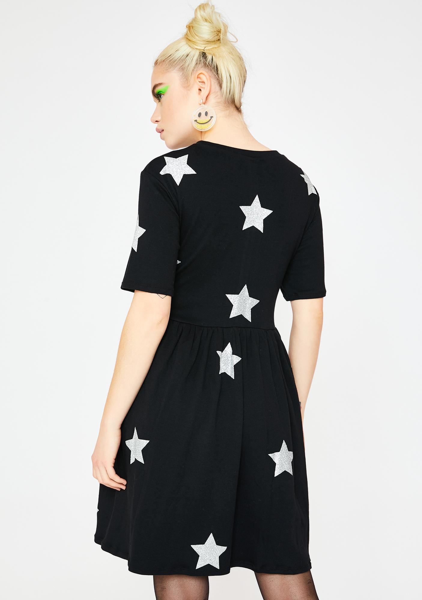 Tallulah's Threads Glitter Star Party Dress