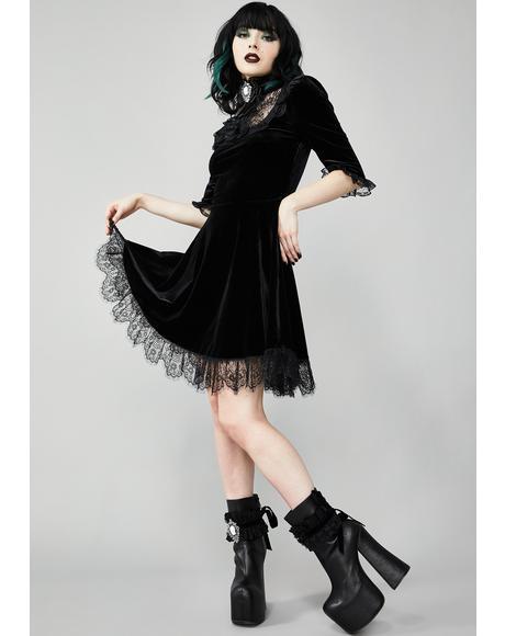Ladyhawke Velvet Dress